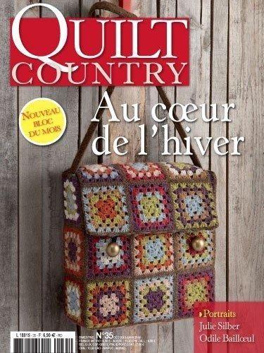 Patchwork Magazin Quilt Country 35 - Au coeur de lhiver