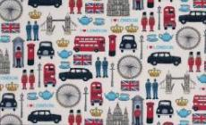 Patchworkstoff London london icons REST 85cm