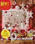 Patchwork Magazin Un Noël tout en feutrine Marie Suarez Sticken Okt. 14 Nr. 3