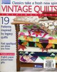 Patchwork Zeitschrift `Vintage Quilts` 19 Modelle