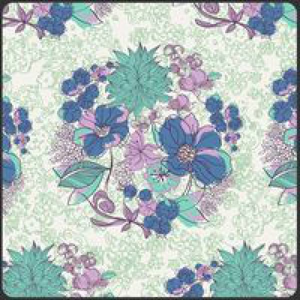 Patchworkstoff Stoff Quilt Poetica Style Serenade Daylight Blumen