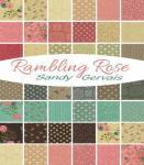 Jelly Rolle Rambling von Rose Sandy Gervailis mit buntem Blumenmuster