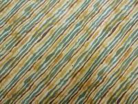 Patchworkstoff Quilt Stoff diagonal gestreift gelb grün braun