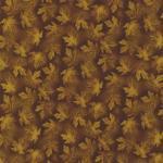 Patchworkstoff Fusions 7517 Blätter braun