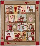 Nähanleitung `Simple Pleasures`  1,12m x 1,27m - Winter Quilt