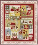 Nähanleitung `All Things Christmas`  1,32m x 1,52m - Weihnachtsquilt