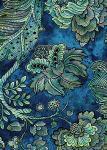 Patchworkstoff Lagoon Paloma Blumen Blätter