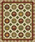 Nähanleitung Quilt Country Pickins by Heidi Pridemore 60 x 70 Inch