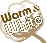 Baumwollvlies Warm und White, gebleicht 1,14m breit