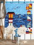 Materialpackung Wandquilt `Meeresbrise` ca. 47 x 52 cm