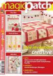 Patchwork Magazin Magic Patch 122 - Une invitation créative
