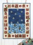 Materialpackung für Adventskalender `Stille Nacht` ca. 67x85cm