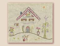 Stickbild Nr.434 Dans ma rue-N°7 ein wunderschönes Haus