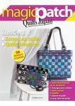 Patchwork Magazin Magic Patch Quilts Japan No.18 - Scrap Log cabin & Quilts bicolores