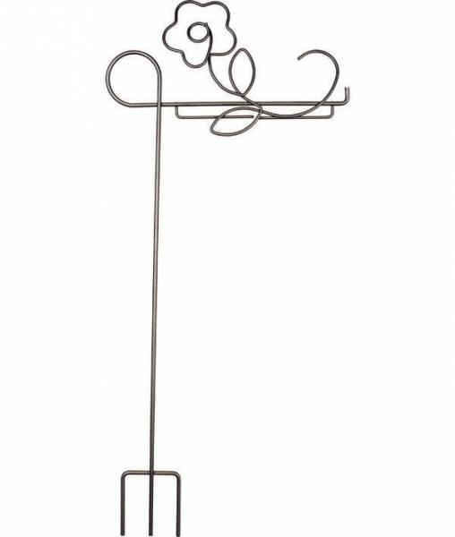 Dekobügel, Blumenstecker Quilt Hänger Classic Pansy 6 Inch breit Blume