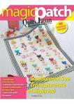 Patchwork Magazin Magic Patch Quilts Japan No.21 - Sunbonnet Sue - Transparence et légèreté