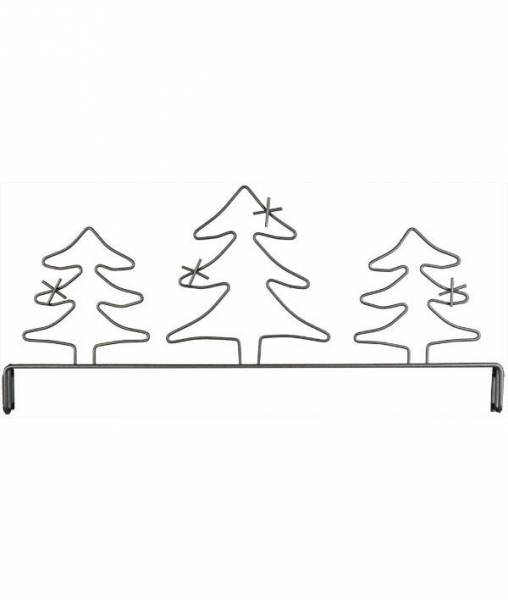 Dekobügel Aufsatz, Tannen 30,5 cm / 12 Inch Kringel Evergreen Header