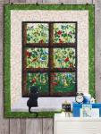 Materialpackung Wand Quilt `Vogelgezwitscher` 1,18 x 1,50m