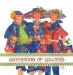 Patchwork Stoff Quilt Art Panel Sisterhood