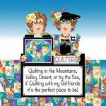 Patchwork Stoff Quilt Art Panel Traveling