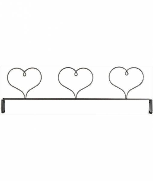 Dekobügel Aufsatz Herzen 30,5 cm / 12 Inch Three Heart Header