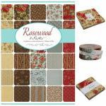 Moda Charm Pack - ROSEWOOD von 3 Sisters
