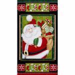 Patchworkstoff Weihnachten Panel Kringle Krossing