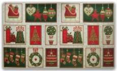 Patchworkstoff Weihnachten Panel Joyful Christmas Panel