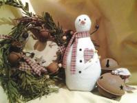 Nähanleitung *Hearty The Snowman Pin Pal* von Cut Loose Press in Englisch