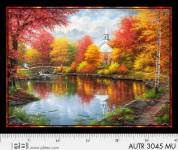 Patchworkstoff Quilt Panel Stoff Digital AUTUMN TRANQUILITY DIGITAL