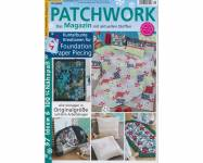Patchwork Magazin 1/2020 Kunterbunte Kreationen für Foundation Paper Piecing