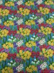 Patchworkstoff Frühlingsstoff Wiese voller toller Blumen