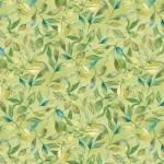 Patchworkstoff Beistoff *Prelude* Blätter überall / Leaves allover