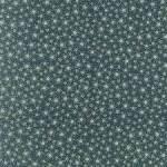 Patchworkstoff Quilt Stoff *Winter Playground* Gold umrandete Sterne auf grün 31910-66