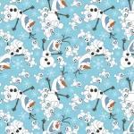 Patchworkstoff Quilt Beistoff *Olaf Snowman* Olaf, der lustige Schneemann, Eiskönigin, Frozen