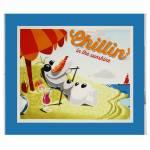 Patchworkstoff Quilt Panel *Olaf Chilling*  90x110cm Eiskönigin, Frozen