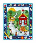 Patchworkstoff Quilt Stoff Panel *School Zone*
