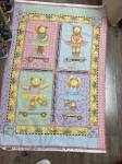 Patchworkstoff  Panel ca. 70x110 cm *Mumms the world* Flanell
