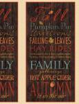 Patchworkstoff  Panel ca. 58 x 110 cm *Colors of Fall**