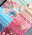 Jelly Strips *Zelie Ann* 40 Strips 2,5 Inch x 42 Inch türkis petrol grün creme rose bordeaux   STZANPK