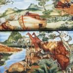 Kinderstoff Baumwollstoff *Arche* by Suzanne Cruise Arche RK-D11833