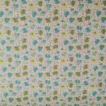 Jersey Elefanten Elefant Blumen Punkte türkis grün weiß J21-0008