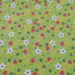 Jersey Blumen Herzen Erdbeeren rot blau weiß rosa grün J8826-317