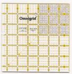 Lineal Ruler 6 1/2  Inch x 6 1/2 Inch Omnigrid OG R65G