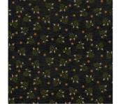 Patchworkstoff Quilstoff *Country Journey* Black Wheat Star Calico Ähren grün schwarz Sterne HG2435-99