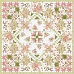 Materialpackung Wandquilt *Frühlingserwachen* ca. 130 x 130 cm Sensibility