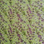 Patchworkstoff Quiltstoff *Simple Pleasures* Blumen lila grün RJR0872