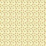 Patchworkstoff *Autumn Acorns Cream* Herbst Eicheln creme braun orange grün C10824R-CREA