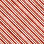 Patchworkstoff *Time For Hot Cocoa* Streifen rot weiß creme WP 30528-329