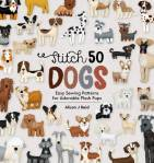 Buch *Stitch 50 Dogs* Schnittmusterbuch Hunderassen Easy Sewing Patterns Hunde D&C21-0001